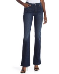cb361b9dc71 7 For All Mankind High Rise Karah Bootcut Jean in Blue - Lyst
