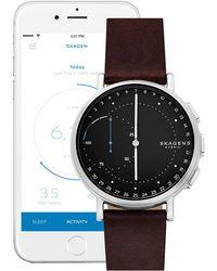 Skagen - Signature Connected Hybrid Smartwatch, 42mm - Lyst