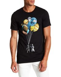 Arka - Floating In Space Tee - Lyst