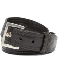 John Varvatos - Pull-back Leather Prong Belt - Lyst