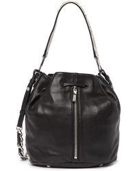 Elizabeth and James - Cynnie Leather Bucket Bag - Lyst