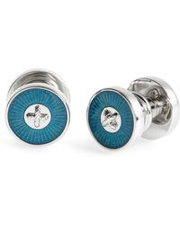 Ted Baker - Pula Snap Button Cuff Links - Lyst
