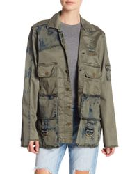 05c1e549cfc True Religion - Cargo Pocket Military Jacket - Lyst