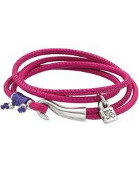 Uno De 50 - Free Fall Lock Charm Bracelet - Lyst