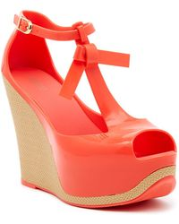 Melissa | Peace Vi Jelly Wedge | Lyst