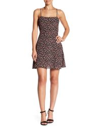 Honey Punch - Floral Printed Dress - Lyst