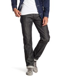 A.P.C. - New Stand Noir Brut Slim Fit Jeans - Lyst