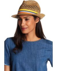 Roffe Accessories - Woven Fedora - Lyst