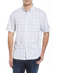 Tommy Bahama - Chevron Shores Print Sport Shirt - Lyst