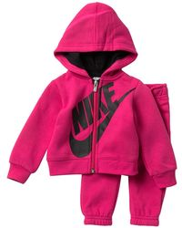 eeee0385b Nike - Heather Fleece Hoodie & Pants Set (baby Girls) - Lyst
