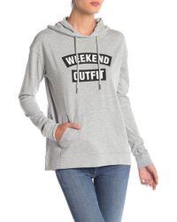 Love, Fire - Weekend Outfit Hoodie - Lyst