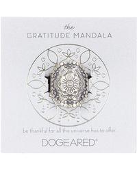 Dogeared - The Gratitude Mandala Ring - Size 5 - Lyst