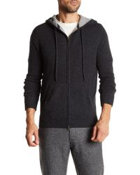 Autumn Cashmere - Cashmere Hooded Sweater - Lyst
