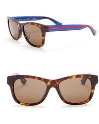 7bc3c78eb6 Lyst - Gucci Men s Square Acetate Frame Sunglasses for Men