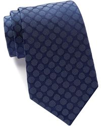 Kenneth Cole Reaction - Veloutine Silk Dot Tie - Lyst