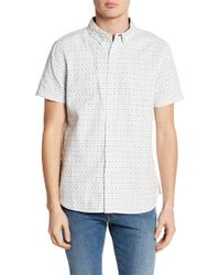 AG Jeans - Printed Standard Fit Shirt - Lyst