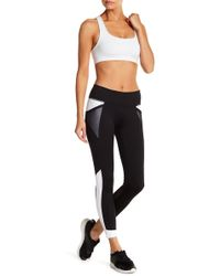Zella - Curve With It Panelled Leggings - Lyst