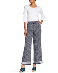Max Studio - High Rise Palazzo Trousers - Lyst