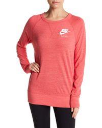 Nike - Crew Neck Pullover Sweatshirt - Lyst