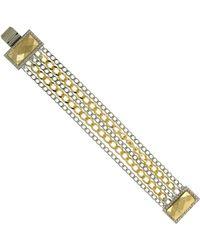 1928 - Two-tone Multi Chain Bracelet - Lyst
