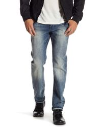 "William Rast - Hixson Straight Denim Jeans - 32"" Inseam - Lyst"