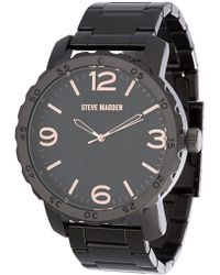 Steve Madden - Men's Alloy 50mm Band Watch - Lyst