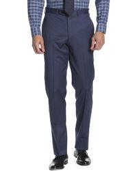 "Brooks Brothers - Blue Sharkskin Regent Fit Suit Separates Trouser - 30-34"" Inseam - Lyst"