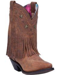 Dingo - Hang Low Fringe Western Boot - Lyst