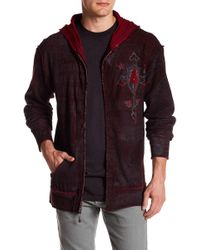 Affliction - Live Fast Reversible Hoodie - Lyst
