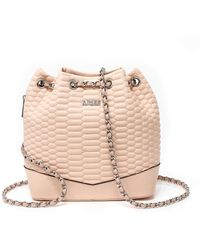 Aimee Kestenberg - Genuine Leather Bondi Quilted Backpack - Lyst