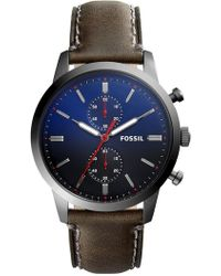 Fossil - Men's Townsman Chronograph Watch, 44mm - Lyst