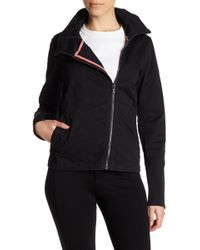 Bench - Double Zip Hooded Jacket - Lyst