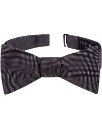 Ted Baker - Solid Cotton Bow Tie - Lyst