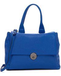 MILLY - Wythe Crossbody Flap Bag - Lyst