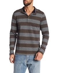 Jeremiah - Victor End On End Jersey Henley - Lyst