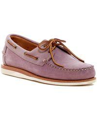 Allen Edmonds - Westbrook Special Boat Shoe - Lyst