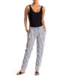 Onia - Ella Linen Blend Pants - Lyst