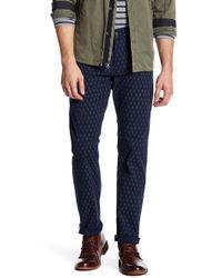 "Dockers | Printed Alpha Khaki Slim Fit Pants - 30-36"" Inseam | Lyst"