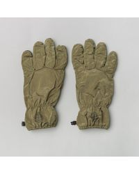 Stone Island - 92069 Gloves In Olive - Lyst