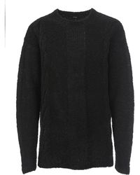 Stampd - Cable Knit Alpaca Sweater - Lyst