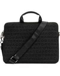 "Marc Jacobs - Logo Neoprene 15"" Commuter Laptop Case - Lyst"
