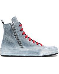 Ann Demeulemeester - Hi-top Sneaker - Lyst