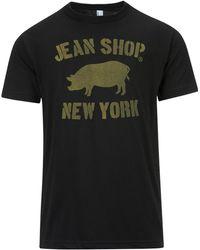 Jean Shop - Stencil Pig Tee - Lyst