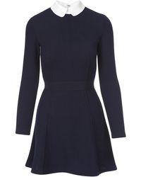 Maison Kitsuné - Fancy Ribbed Dress - Lyst
