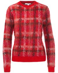 Carven - Plaid Sweater - Lyst