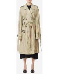 JW Anderson - Double Faced Crinkle Trench - Lyst
