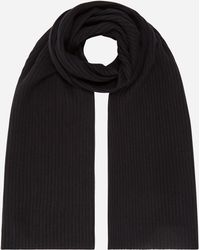 N.Peal Cashmere - Short Ribbed Cashmere Scarf - Lyst