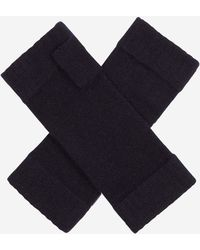 N.Peal Cashmere - Fingerless Cashmere Gloves - Lyst