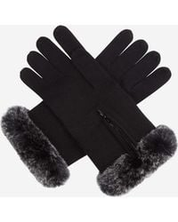 N.Peal Cashmere - Fur And Cashmere Gloves - Lyst