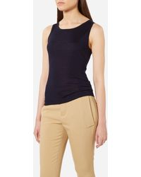 N.Peal Cashmere - Super Fine Cashmere Shell Top - Lyst